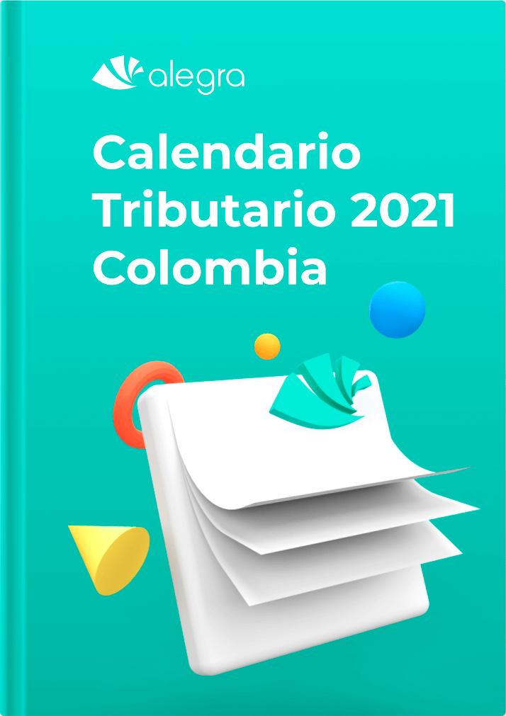 Calendario tributario 2021 - Colombia